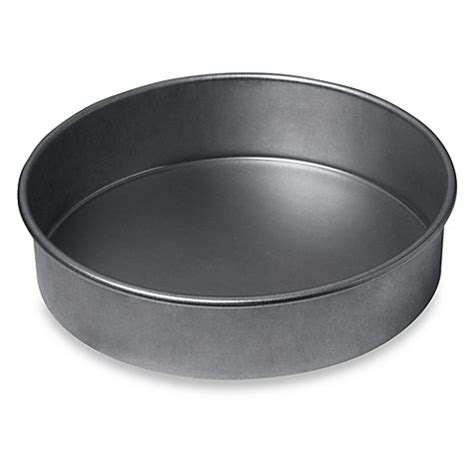 round to ours setting 1849499594 chicago metallic nonstick 8 inch round cake pan bed bath beyond