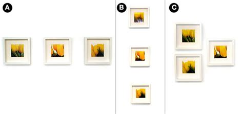 how to hang pictures quick easy ways to hang 3 picture frames utr d 233 co blog