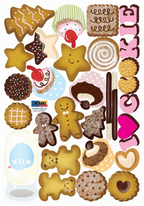 Cookie Stickers