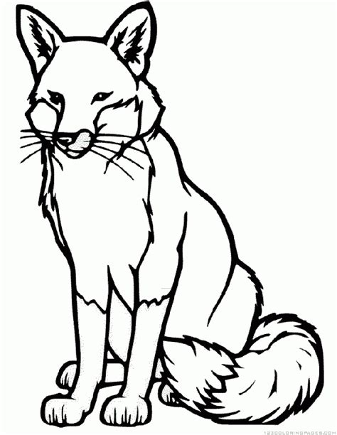 Fox Coloring Pages by Rooster And Fox Coloring Pages Coloring Home