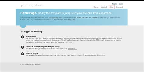 layout it vs bootstrap asp net mvc application with custom bootstrap layout vs