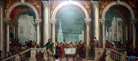 house of banquet file banquet in the house of levi by paolo veronese accademia venice 2016 2 jpg