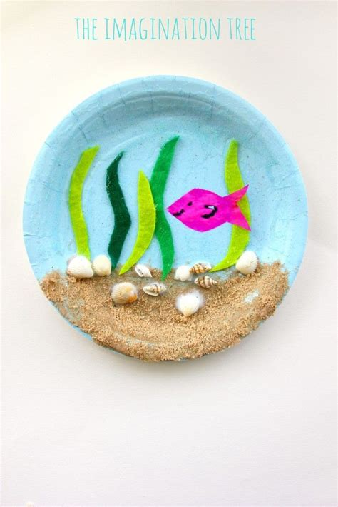Crafts Made From Paper Plates - 25 best ideas about paper plate crafts on