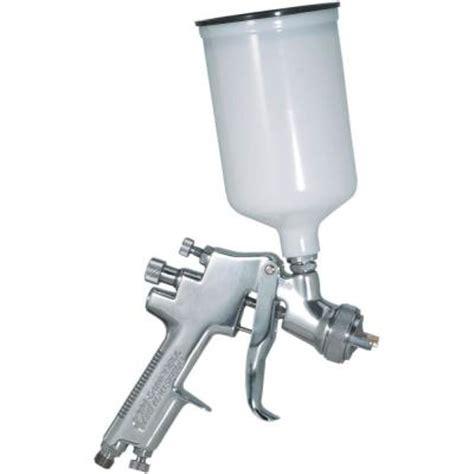 paint spray gun home depot cbell hausfeld gravity feed pneumatic spray gun