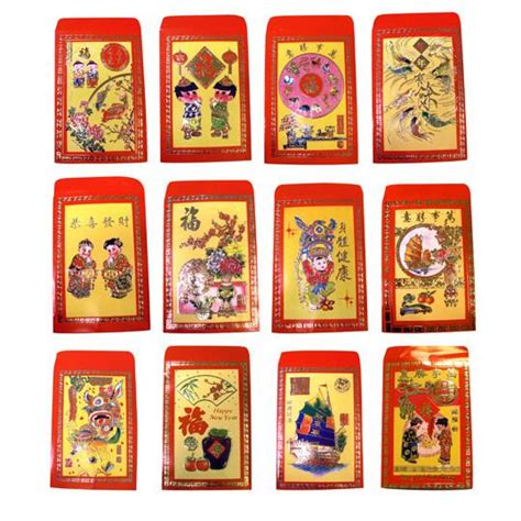 new year lucky money etiquette new year or tet lucky money envelopes mixed