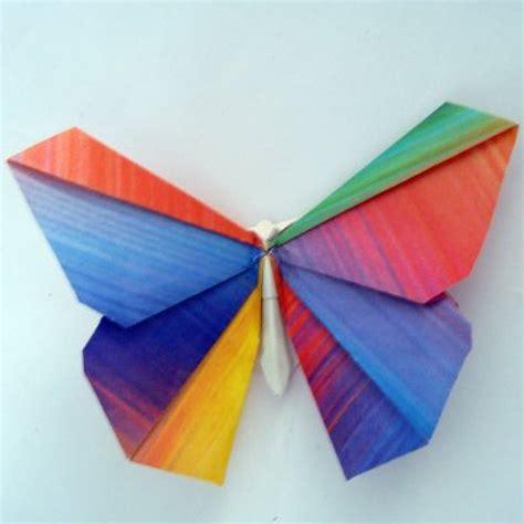 c mo hacer una mariposa de papel origami youtube como hacer mariposas de origami imagui
