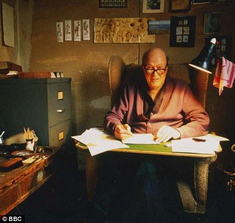 Writing Desk Inspiration Roald Dahl Day Inside The Author S Macabre Garden Shed
