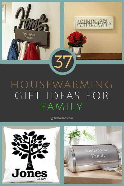 gifts for the family 37 great housewarming gift ideas for family