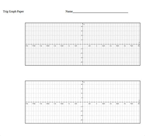 printable trigonometric graphs pin trigonometry graph paper on pinterest