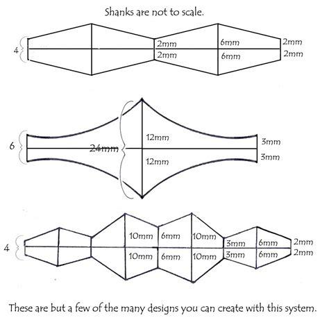 Adjustable Ring Shank Patterns Nancy L T Hamilton Chionship Ring Design Template