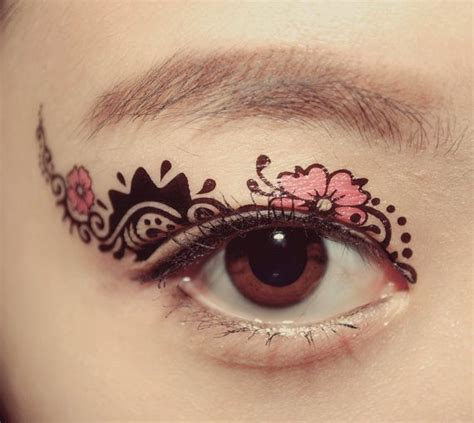 halloween costume makeup metallic gold temporary tattoo