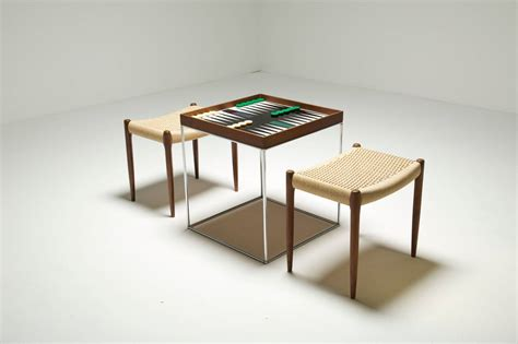 cox chess and backgammon table at 1stdibs