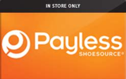 Payless Shoe Source Gift Card Balance - buy payless shoesource in store only gift cards raise
