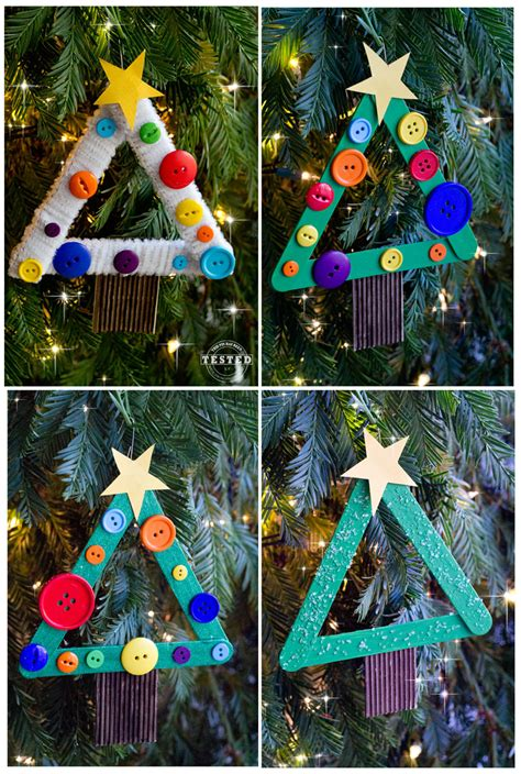 tree decorations children can make diy tree ornament tgif this is