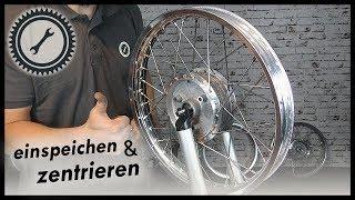 Motorrad Felgen Zentrieren Anleitung by Simson Felge Einspeichen Anleitung St3