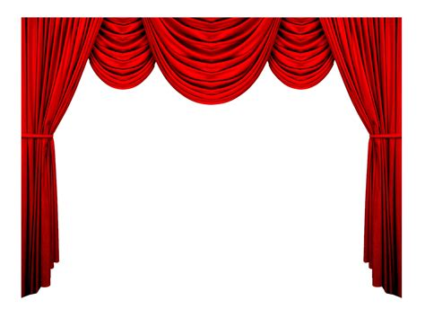 Red Curtain Valance Curtains Png Images Free Download