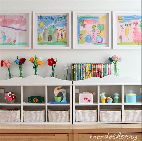 ways to display artwork creative ways to display kids art