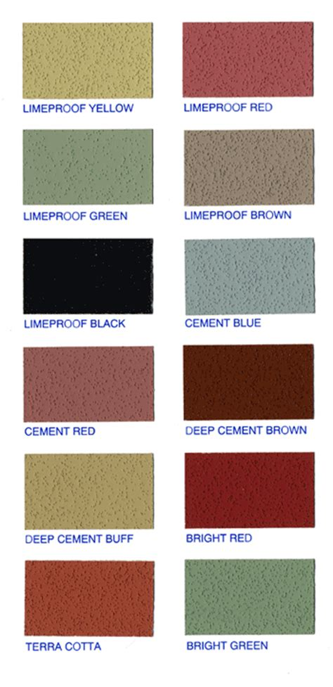 mortar color quikrete mortar color chart best picture of chart