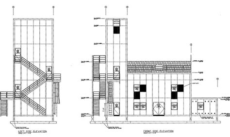 fire tower plans training tower live fire building to be constructed near