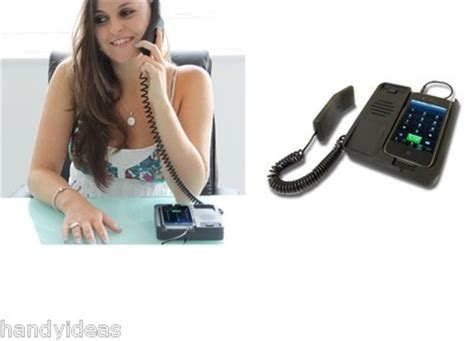 turn your mobile into a desk phone iphone desk phone dock turn mobile into a desktop handset