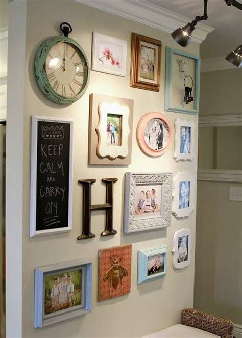wall collage frames 2016 multi frame wood baby picture 32 best gallery wall ideas and decorations for 2017