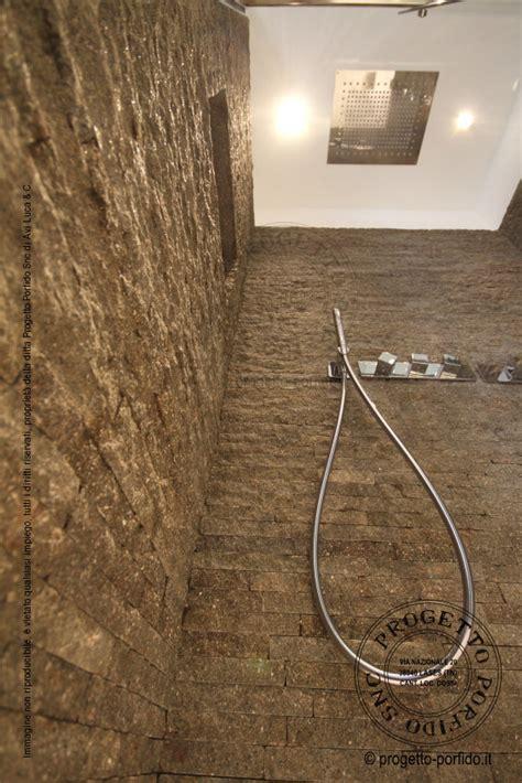 rivestimenti doccia foto rivestimento doccia progetto porfido snc