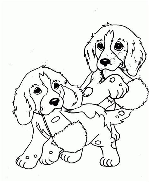coloring pages of two dogs dibujos de perros cachorros para colorear colorear im 225 genes