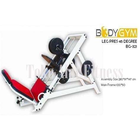 Alat Fitnes Leg Press leg press 45 degree bga321 toko alat fitness