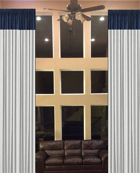 extra long drapes curtains store wide sale color blocked drapes 2 story extra by