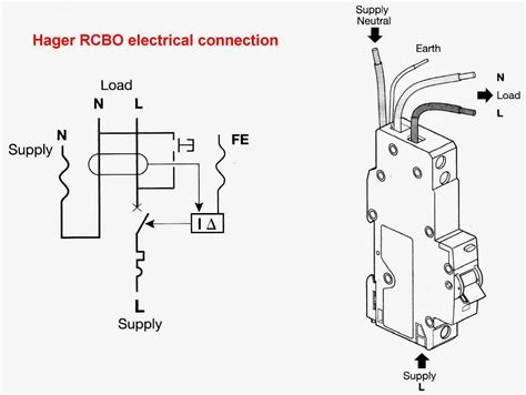 rcbo schematic diagram efcaviation