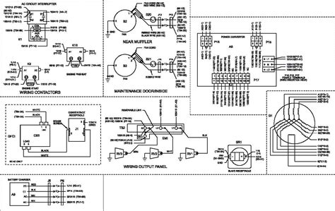 single phase generator wiring diagram get free image