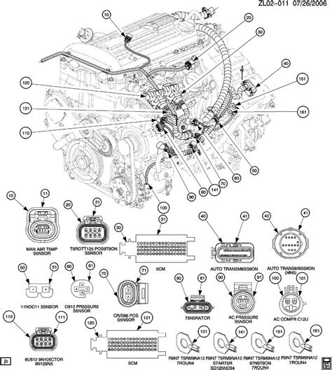 online service manuals 2003 saturn vue engine control 2002 saturn vue wiring harness engine front connector view