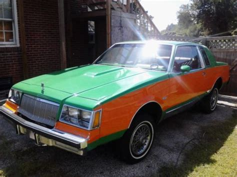 auto air conditioning service 2012 buick regal head up display purchase used 81 buick regal super clean custom two toned canby paint job orange and green in