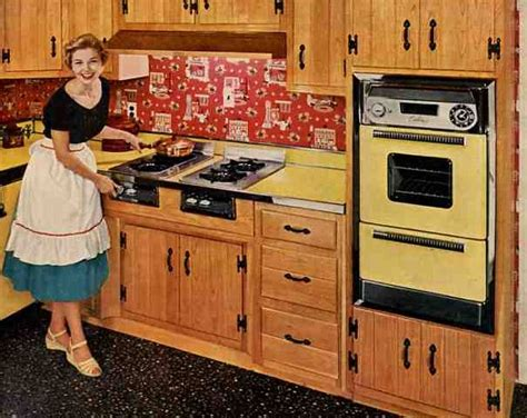 1950s kitchen furniture diy creating character with vintage wall ovens soulful abode