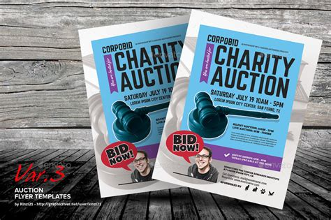 Auction Flyer Templates By Kinzi21 Graphicriver Auction Flyer Template