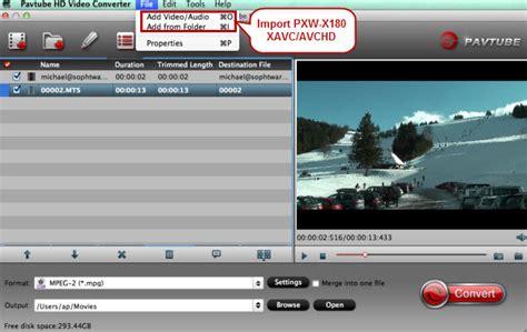 adobe premiere cs6 xavc import and edit pxw x180 xavc avchd in premiere pro cc cs