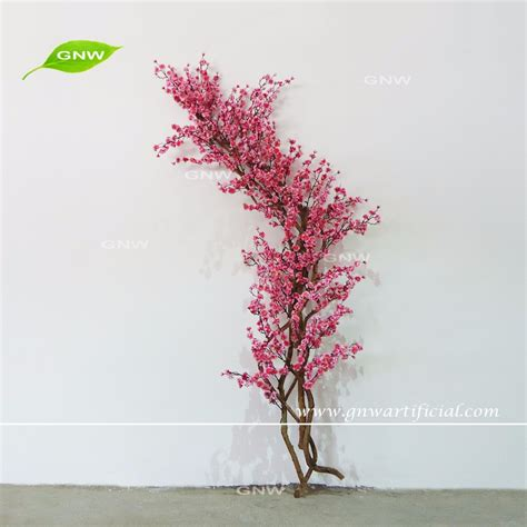 artificial cherry blossom branch artificial cherry blossom tree branch decoration for