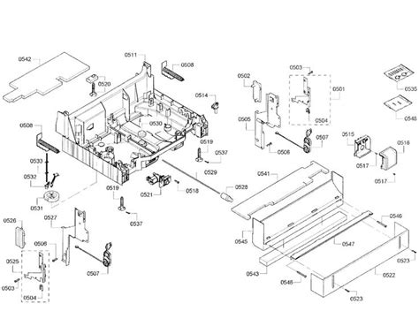 parts of a dryer diagram new the 25 best bosch dishwasher