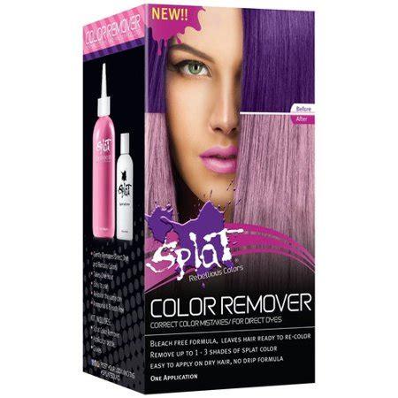 hair color remover walmart splat color remover walmart