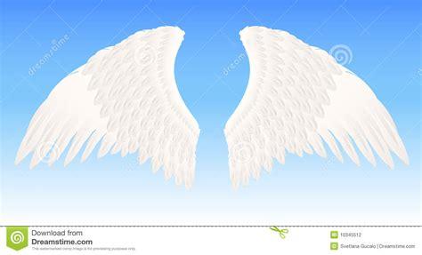 imagenes de alas blancas white angel wings stock photography image 10345512