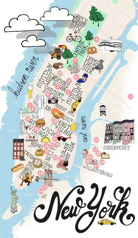 map de new york city trip back to ny 01 manhattan reise usa mappen