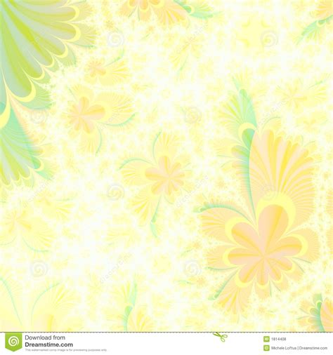 background design green and yellow flowery yellow and green abstract background design