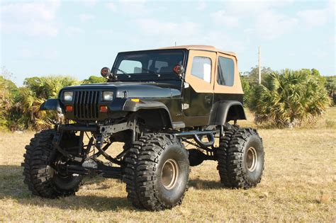 jeep lifted 1993 lifted jeep wrangler 383 stroker monster 44