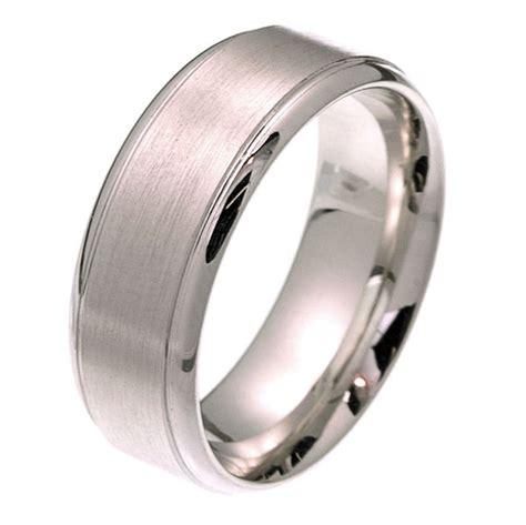 2102511pp platinum comfort fit 8 0mm wide wedding band