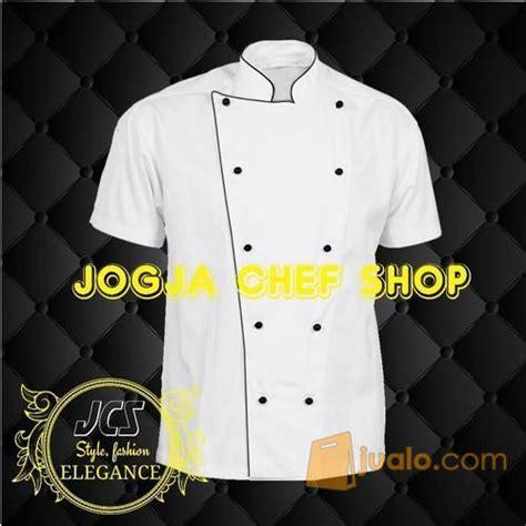 desain baju chef baju chef putih polos naga kab bantul jualo