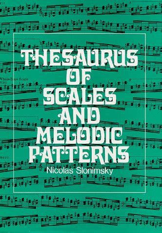 no pattern thesaurus thesaurus of scales and melodic patterns avaxhome