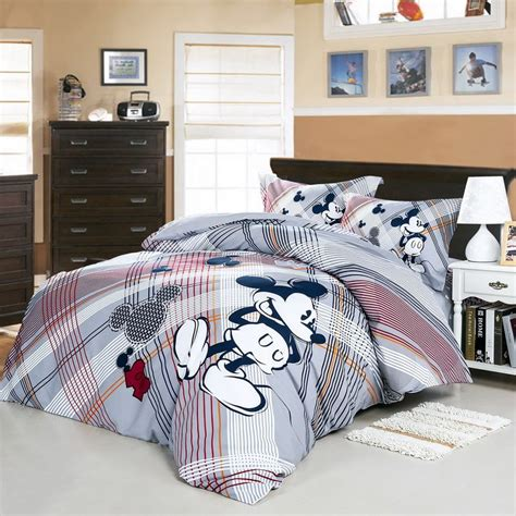 mickey mouse bed set we love mickey mouse gray disney bedding set disney