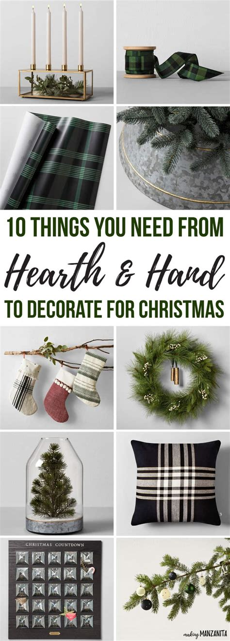 what do i need to decorate christmas 10 things you need from hearth and to decorate for