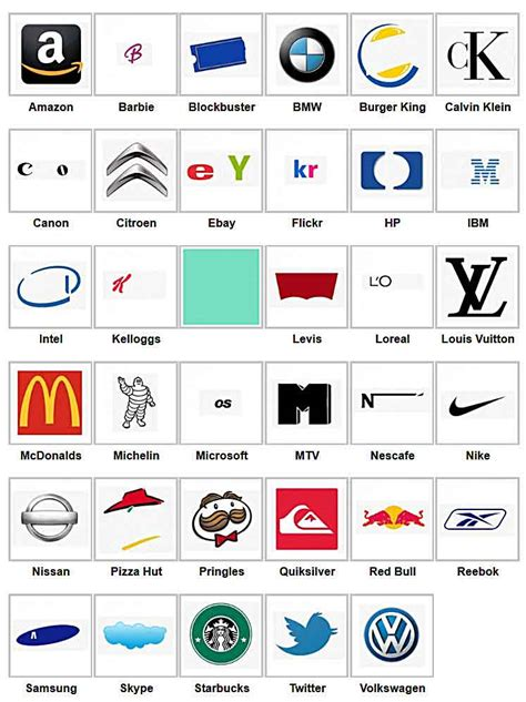 logo finder answers all logos 88 logos quiz answers