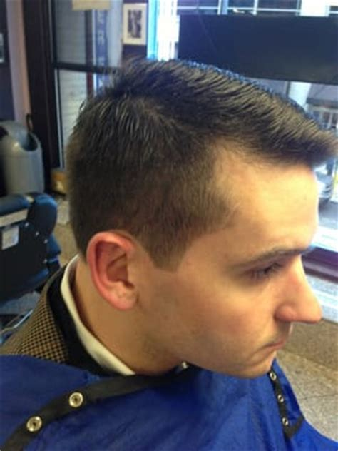 regular haircut pictures regular business haircut by michael s barbershop yelp